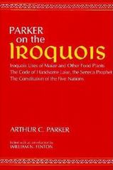 Parker on the Iroquois 1st Edition 9780815601159 0815601158