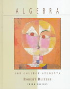 Algebra for College Students 3rd edition 9780137002122 0137002122