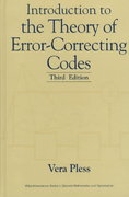 Introduction to the Theory of Error-Correcting Codes 3rd edition 9780471190479 0471190470
