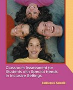 Classroom Assessment for Students with Special Needs in Inclusive Settings 0 9780130810496 0130810495