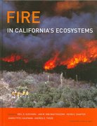Fire in California's Ecosystems 1st Edition 9780520246058 0520246055