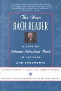 The New Bach Reader 0 9780393319569 0393319563