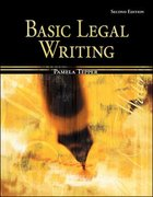 Basic Legal Writing for Paralegals 2nd edition 9780073403038 0073403032