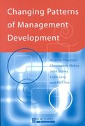 Changing Patterns of Management Development 1st edition 9780631209997 0631209999