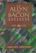 Allyn and Bacon Handbook 4th edition 9780205298563 0205298567