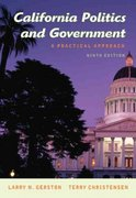 California Politics and Government 9th edition 9780495006787 0495006785