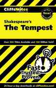 CliffsNotes on Shakespeare's The Tempest 1st edition 9780764586743 0764586742