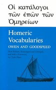 Homeric Vocabularies 1st Edition 9780806108285 0806108282