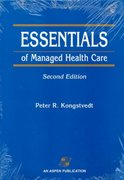 Essentials of Managed Health Care 2nd edition 9780834209138 0834209136