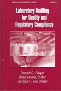 Laboratory Auditing for Quality and Regulatory Compliance 1st edition 9781574445701 1574445707