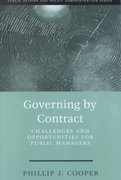 Governing By Contract: Challenges and Opportunities For Public Managers 1st edition 9781568026206 156802620X