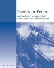 Burden of Proof 3rd Edition 9780759363915 0759363919
