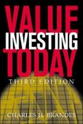 Value Investing Today 3rd edition 9780071417389 0071417389