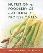 Nutrition for Foodservice and Culinary Professionals 4th edition 9780471347774 0471347779