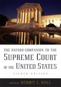 The Oxford Companion to the Supreme Court of the United States 2nd edition 9780195176612 0195176618