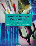 Medical Dosage Calculations 7th edition 9780805391626 0805391622