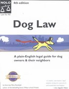 Dog Law 4th edition 9780873376167 0873376161