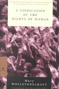 A Vindication of the Rights of Woman 0 9780375757228 0375757228