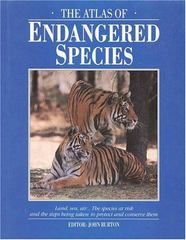 The Atlas of Endangered Species 0 9780028970813 0028970810