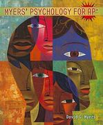 Myers' Psychology for AP* 1st edition 9781429244367 1429244364
