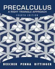 Precalculus 4th Edition 9780321693976 0321693973