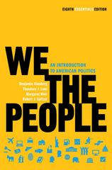 We the People 8th edition 9780393935653 0393935655