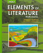 Elements of Literature 5th edition 9780030382826 0030382823