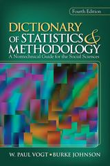 Dictionary of Statistics & Methodology 4th Edition 9781412971096 1412971098