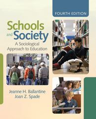 Schools and Society 4th edition 9781412979245 1412979242