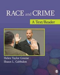 Race and Crime 1st edition 9781412989077 1412989078
