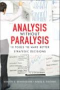 Analysis Without Paralysis 1st edition 9780132619578 0132619571