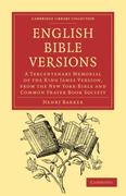 English Bible Versions 1st edition 9781108024549 1108024548