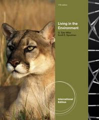 Living in the Environment 17th edition 9780538735353 053873535X