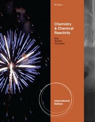 Chemistry and Chemical Reactivity 8th edition 9781111427023 111142702X