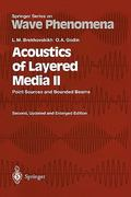 Acoustics of Layered Media II 2nd edition 9783642084898 3642084893