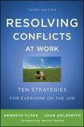 Resolving Conflicts at Work 3rd edition 9780470922248 0470922249