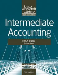 Intermediate Accounting, , Study Guide, Vol. II 14th edition 9781118014509 1118014502