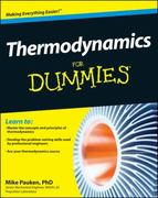 Thermodynamics For Dummies 1st Edition 9781118002919 1118002911