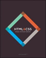 HTML and CSS 1st Edition 9781118008188 1118008189