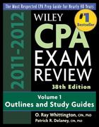 Wiley CPA Examination Review, Outlines and Study Guides 38th edition 9780470923832 0470923830