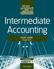 Intermediate Accounting, , Study Guide 14th edition 9781118014493 1118014499