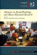 Advances in Social-Psychology and Music Education Research 1st Edition 9781317185116 1317185110