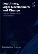 Legitimacy, Legal Development and Change 1st Edition 9781317105824 1317105826