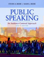 Public Speaking 8th edition 9780205784622 0205784623