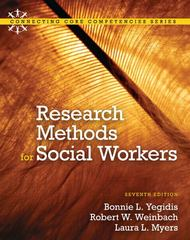 Research Methods for Social Workers 7th Edition 9780205820115 0205820115