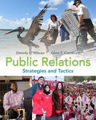 Public Relations 10th edition 9780205770885 0205770886