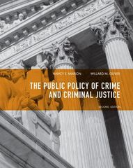 Public Policy of Crime and Criminal Justice 2nd Edition 9780135120989 0135120985