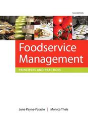 Foodservice Management 12th edition 9780135122167 0135122163