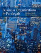 Business Organizations for Paralegals 1st edition 9780135103647 0135103649
