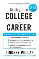 Getting from College to Career 1st Edition 9780062206381 0062206389
